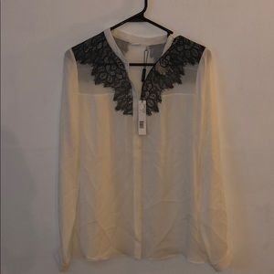 Elie Tahari new with tags silk blouse
